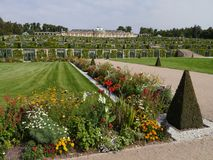 potsdam Parkera helheten av Sanssouci royaltyfria foton