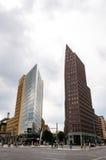 Potsdam Square, Renzo Piano building and Kollhoff-Tower Royalty Free Stock Photos