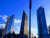 Potsdamer Platz στοκ εικόνες με δικαίωμα ελεύθερης χρήσης
