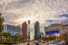 Potsdamer Platz, οικονομική περιοχή του Βερολίνου, Γερμανία Στοκ Εικόνα
