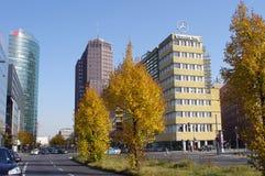 Potsdamer Platz в Берлин Стоковые Изображения RF