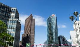 Potsdamer Platz Fotografia de Stock Royalty Free