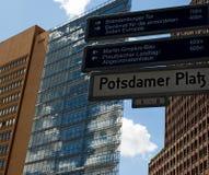 Potsdamer Platz Fotografering för Bildbyråer