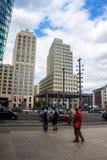 Potsdamer Platz, Berlijn Stock Afbeeldingen