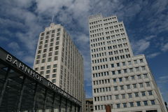 Potsdamer Platz - Berlim Imagem de Stock