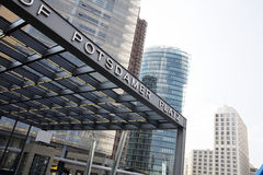 Potsdamer Platz Berlin. Modern Architecture at Potsdamer Platz Berlin, Germany Stock Image