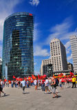 Potsdamer Platz, Berlin Stock Photography