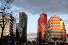 Potsdamer Platz in Berlin Stock Images