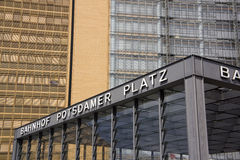 Potsdamer Platz, Berlin Royalty Free Stock Photos