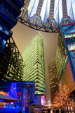 Potsdamer Platz, Berlin, Germany. Potsdamer Platz at night, Berlin, Germany Stock Photography