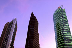 Potsdamer Platz- Berlin, Germany Stock Photography