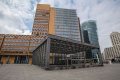 Potsdamer platz berlin germany Stock Photo