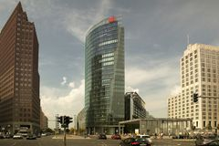 Potsdamer Platz in Berlin Royalty Free Stock Images