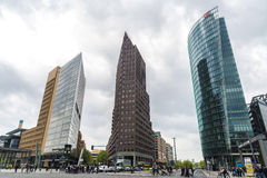 Potsdamer Platz  in Berlin, Germany Stock Photos