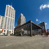 The Potsdamer Platz in Berlin, Germany Royalty Free Stock Photo