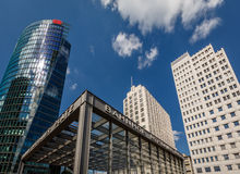 The Potsdamer Platz in Berlin, Germany Stock Images
