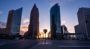 Potsdamer Platz in Berlin, Germany Stock Photos