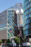 Potsdamer Platz Berlin Germany. The modern buildings and Sony Center in Postdamer Platz, Berlin, Germany Stock Photography