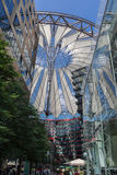 Potsdamer Platz Berlin Germany. The modern buildings and Sony Center in Postdamer Platz, Berlin, Germany Stock Photos