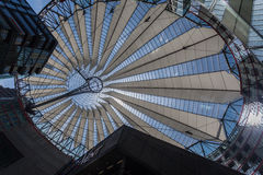 Potsdamer Platz Berlin Germany. The modern buildings and Sony Center in Postdamer Platz, Berlin, Germany stock images