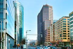 Potsdamer Platz. Berlin, Germany Stock Photography