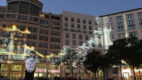 Potsdamer platz in Berlin stock video footage