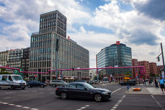 Potsdamer Platz, Berlino Fotografie Stock Libere da Diritti
