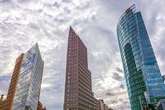 Potsdamer Platz, financial district of Berlin, Germany. Stock Photo