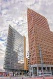 Potsdamer Platz, financial district of Berlin, Germany. Royalty Free Stock Image