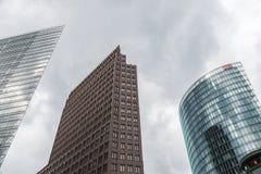 Potsdamer platz i Berlin, Tyskland Royaltyfria Foton