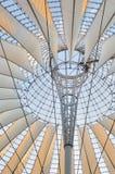 Potsdamer Platz modernes Kabinendach stockbilder