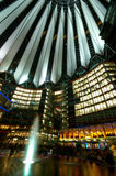 Potsdamer Platz at Night. The Potsdamer Platz at Night Stock Images