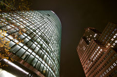 Potsdamer Platz at Night. The Potsdamer Platz at Night royalty free stock photos