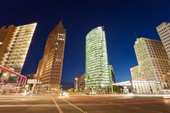 Potsdamer Platz, Berlin Germany Royalty Free Stock Photography