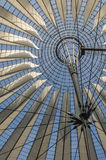 Potsdamer platz, roof dome of Sony Center, Berlin Stock Photos
