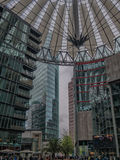 Potsdamer platz Sony center in Berlin Royalty Free Stock Photos