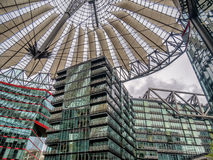 Potsdamer platz Sony center in Berlin. Germany Stock Images