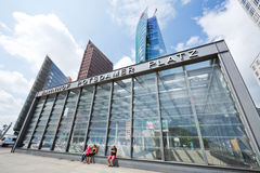 Potsdamer Platz station in Berlin, Germany Royalty Free Stock Photography