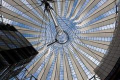 Potsdamer Platz w Berlin, Niemcy, Sony centrum Obraz Stock