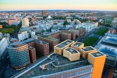 Potsdamer platz widok nad Berlin, Berlin, Germany Fotografia Stock