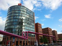 Potsdamer Plazt, Berlin, Deutschland Lizenzfreies Stockbild