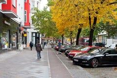 Potsdamer Strasse in Berlin in autumn Stock Image