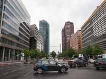 Potsdamerplatz in Berlin Stock Photos