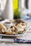 Pot Stickers Appetizer Royalty Free Stock Images