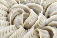Potstickers Chinese Dumplings Closeup Stock Photo
