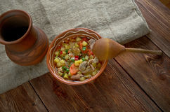 pottage Stockbild