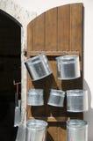 Potten voor verkooplefkosia Cyprus Stock Fotografie