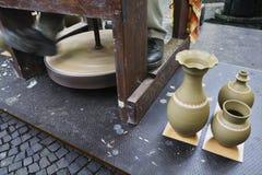 Pottenbakker stock foto's