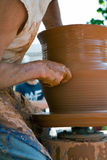 Pottenbakker Royalty-vrije Stock Afbeeldingen