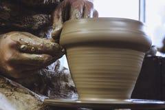pottenbakker Stock Afbeelding